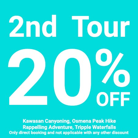 2nd Tour 20% OFF
