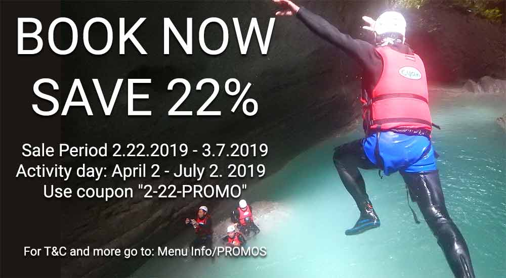 2 Weeks 22% Discount for all tours!