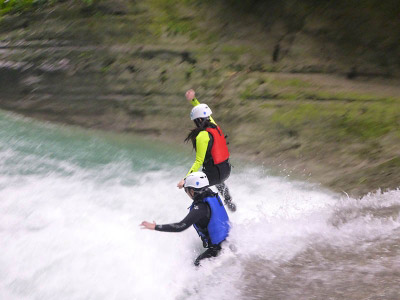 How canyoning got popular